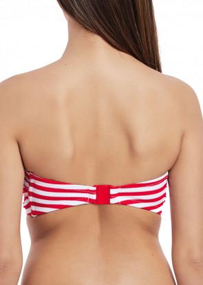 Freya Swim Drift Away bikiniöverdel bandeau B-I kupa mönstrad