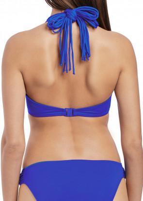 Freya Swim Macrame Halterneck Bikini Overdel D-I Skål blå