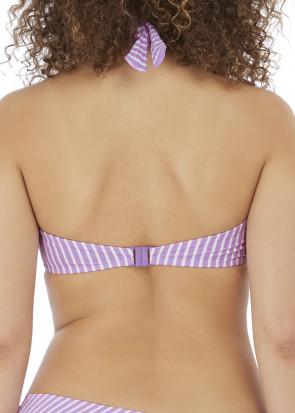 Freya Swim Beach Hut bikiniöverdel halterneck D-J kupa mönstrad