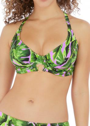 Freya Swim Jungle Oasis bikiniöverdel D-M kupa mönstrad