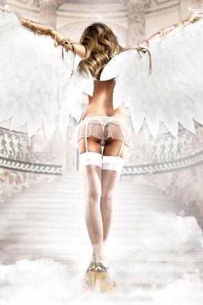 Dotted Garter Skirt Set