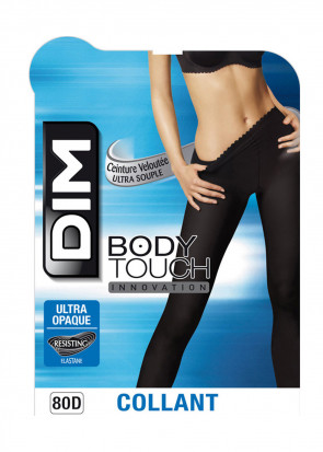 DIM Body Touch leggings 1/2 - 3/4 svart