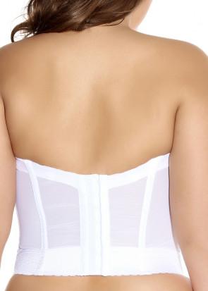 Goddess Lace Bridal korset BH B-H skål hvid