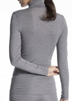 Calida True Confidence langærmet polotrøje XS - L grå