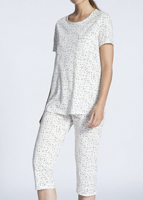 Calida Cosy Cotton Jersey 3/4 pyjamas L multi