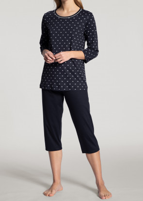 Calida Night Lovers 3/4 pyjamas XXS-XL blå