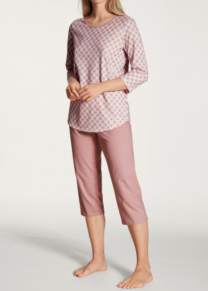 Calida Lovely Nights 3/4 pyjamas XS-L rosa