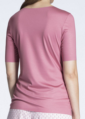 Calida Natural Luxe kortærmet trøje XXS-L rosa