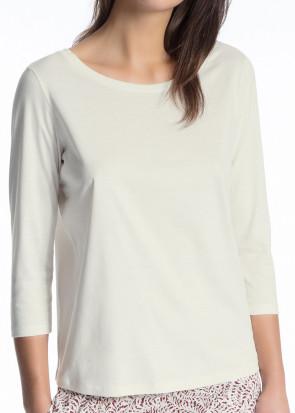 Calida Favourites Trend 3/4 trøje XXS-L hvid