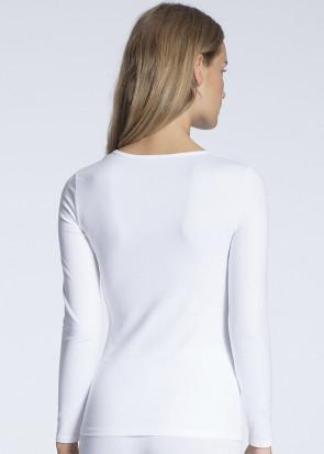 Calida Natural Comfort langærmet trøje XXS-L hvid