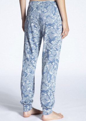 Calida Favourites Trend pyjamasbukser XXS-L blå