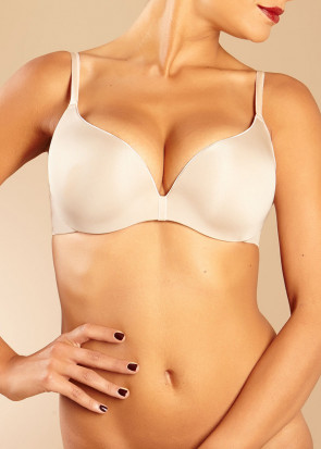 Chantelle Irresistible Push-up bh A-F Skål Beige