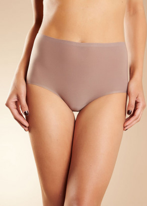 Chantelle SoftStretch brieftrosa med hög midja one size brun