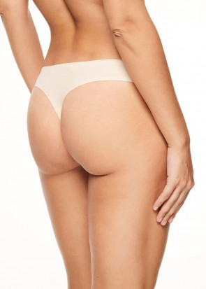 Chantelle SoftStretch stringtrusse one size lys beige