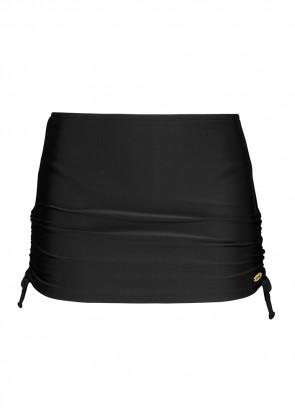 Damella bikiniunderdel med nederdel 36-48 sort