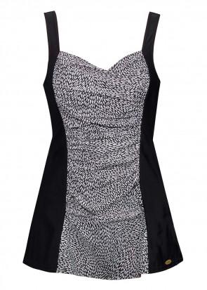 Damella badedraagt med nederdel 38-48 sort og hvid