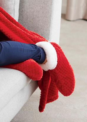 Damella bløde sokker 34/37-38/41 rød