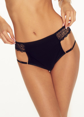 Caprice Devil High Waisted brieftrosa S-L svart