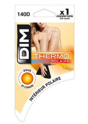 DIM Thermo-strømper 140 Den 35/41 sort