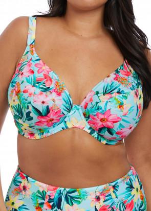 Elomi Swim Aloha bikiniöverdel plunge J-K kupa multi