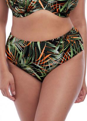 Elomi Swim Amazonia bikiniunderdel brief 42-52 mønstret