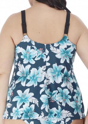 Elomi Swim Island Lily tankini 42-52 mønstret