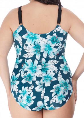 Elomi Swim Island Lily baddräkt 42-52 mönstrad