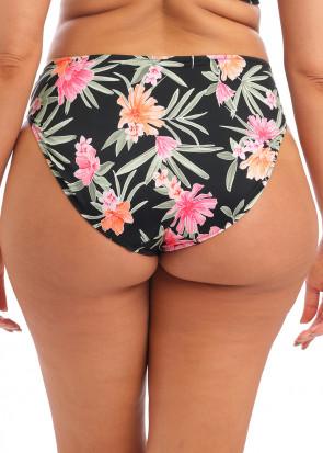 Elomi Swim Dark Tropics bikiniunderdel med hög midja 40-52 mönstrad