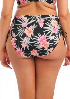 Elomi Swim Dark Tropics bikiniunderdel justerbar brief 40-52 mönstrad