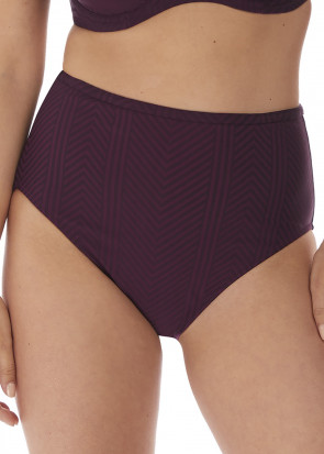 Fantasie Swim Long Island bikiniunderdel med høj talje S-XXL lilla