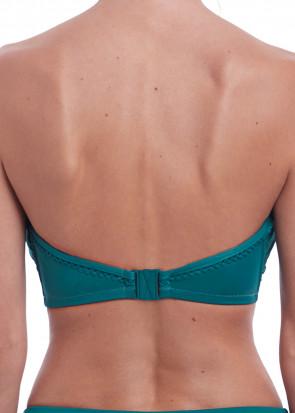 Fantasie Swim Marseille bikinioverdel bandeau D-I skål grøn