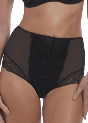 Fantasie Twilight brieftrusse med høj talje XS-XXL sort