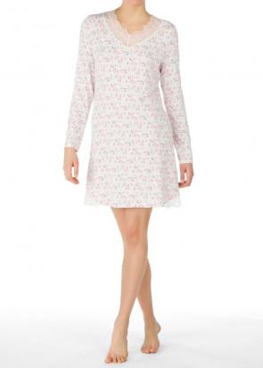 Calida Favourites Xmas langærmet natkjole XXS-M hvid