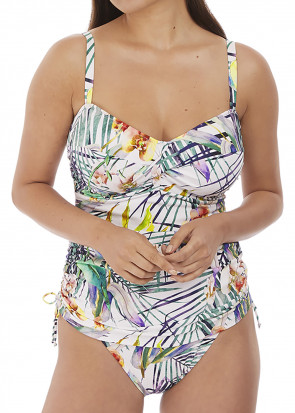 Fantasie Swim Playa Blanca tankini D-K skål mønstret