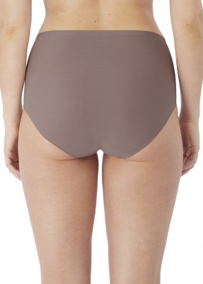 Fantasie Smoothease Invisible brieftrosor med hög midja One Size brun