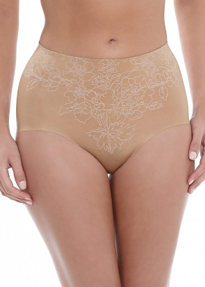 Wacoal Flower Power slankende briefs S-XL beige