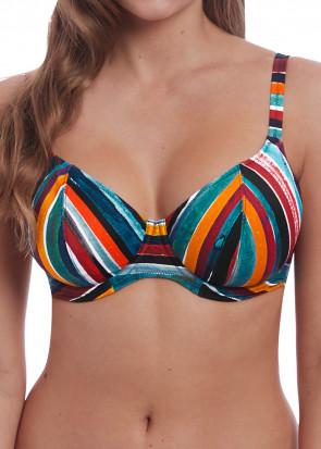 Freya Swim Bali Bay bikiniöverdel plunge D-L kupa multi