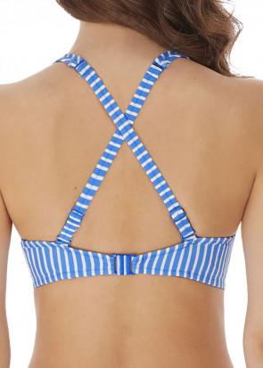 Freya Swim Beach Hut bikinioverdel høj apex D-M skål blå