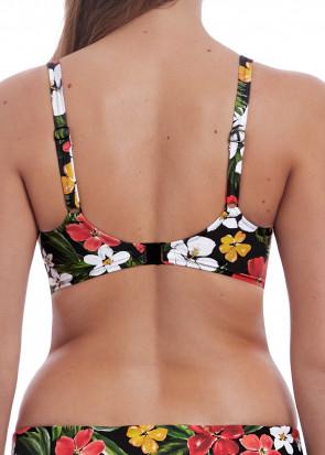 Freya Swim Tiki Bar vatteret bikinioverdel D-L skål mønstret