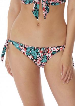 Freya Swim Water Meadow bikiniunderdel med sideknytning XS-XL mønstret