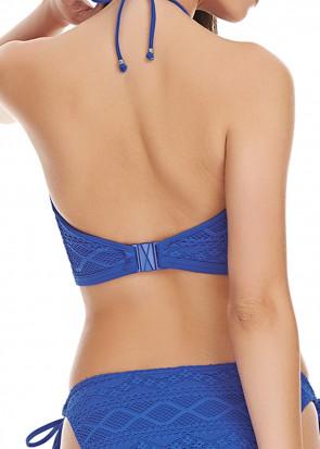Freya Sundance Croptop bikini top D-I skål blå