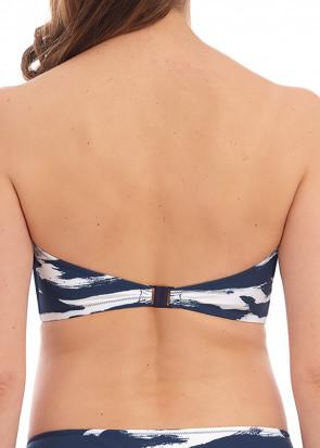 Fantasie Swim Lindos bikiniöverdel bandeau D-I-kupa mönstrad