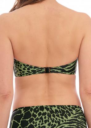Fantasie Swim Boa Vista bikiniöverdel bandeau D-I kupa mönstrad