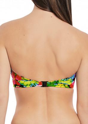 Fantasie Swim Santa Barbara Bikini Bandeau D-I skål mønstret