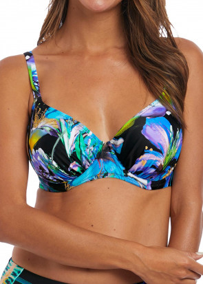 Fantasie Swim Paradise Bay bikinioverdel med bøjle D-M skål aqua multi