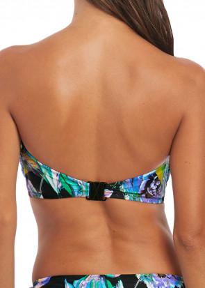 Fantasie Swim Paradise Bay bikinioverdel bandeau D-I skål aqua multi