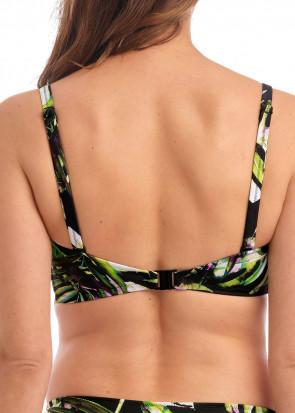 Fantasie Swim Palm Valley bikiniöverdel bandeau D-I kupa mönstrad