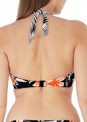 Fantasie Swim Port Maria bikiniöverdel halterneck D-K kupa mönstrad
