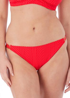 Fantasie Swim Long Island bikiniunderdel brief M-XL röd