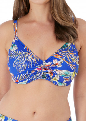 Fantasie Swim Burano bikiniöverdel bralette D-K-kupa mönstrad